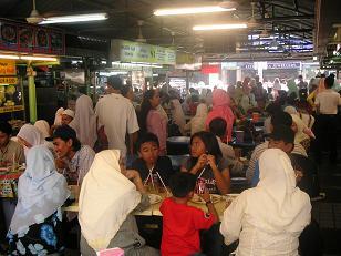 Veel moslims in Maleisie
