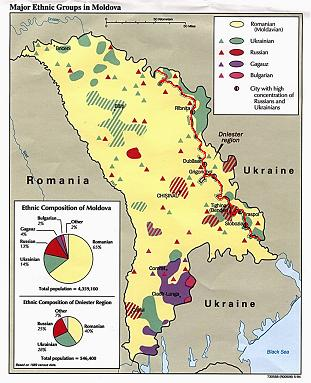 Moldavie en Transdniestr