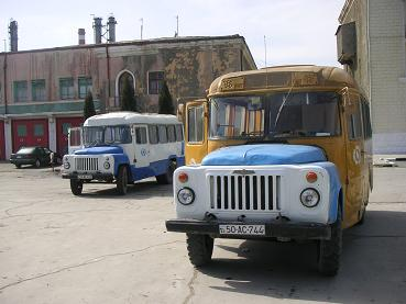 Prachtige stadsbussen